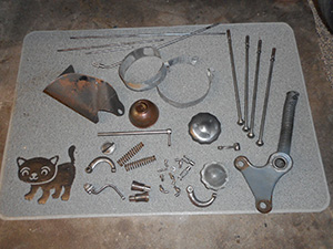 reo parts for plating