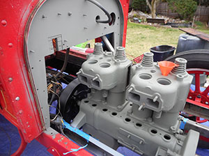 reo primed engine